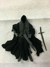 """TOYBIZ LORD OF THE RINGS LOTR NAZGUL RINGWRAITH 6"""" SCALE FIGURE 100% COMPLETE"""