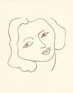 Henri Matisse lithograph from Florilege des amours de Rosnard 9892712