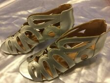 Womans Silver Shoes (Comfortview)  Size 12ww