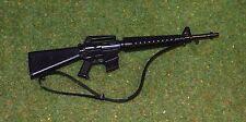 VINTAGE ACTION MAN 40th LOOSE SOLDIER SAS PARACHUTE ATTACK - M-16 - M16 RIFLE