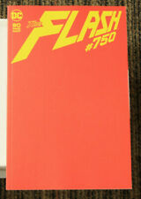 DC Flash #750 - RED BLANK Sketch Cover Variant - 80th Anniversary