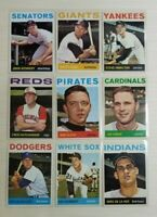 1964 Topps Baseball - Cards #197-392 - Set Break - Choose From The List (2 of 3)