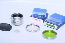 Voigtlander SEPTON  50mm f/2 FAST lens. Filters. Digital Mirrorless.