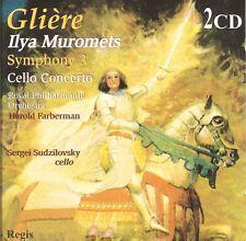 Glière - Ilya Muromets (Symphony 3) • Cello Concerto [2 CDs]