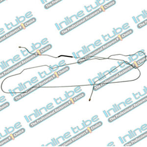 1999-2005 Ford F250 F350 CREWCAB LONGBED Front to Rear Brake Line 1pc ABS SS