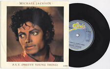 """Michael Jackson P.Y.T. PYT PRETTY YOUNG THING Disque 45t 7"""" Vinyl Single 1983"""