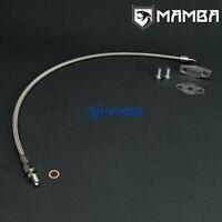 Turbo Oil Feed Line For MAZDA 323 GTX MX-5 MIATA w/ Garrett T3 T4 T04B T04E T04