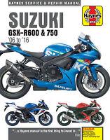 Suzuki GSX-R600 & GSX-R750 2006-2016 Repair Manual