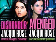 Jacqui rose __ 2 books set __ new __ free shipping gb