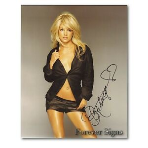 Britney Spears Autographed Signed 8 x 10 REPRINT