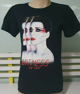 """Katy Perry. """"Witness The Tour"""" Shirt. 2017-2018. Black. XS"""
