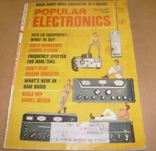 Popular Electronics August 1969, Cb Ham Radio Gear , Shortwave / c4