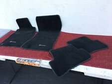 MERCEDES 2001-2007 W203 FRONT REAR FLOOR MAT CARPET MATS SET OF 4 BLACK OEM #002