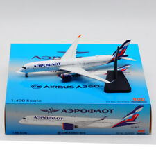 Aviation 1:400 Aeroflot  Airlines Airbus A350-900 Diecast Aircraft Model VQ-BFY
