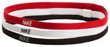 Nike Stirnband SWOOSH Sport Headband 3er Pack schwarz / weiss / rot