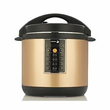 Fagor LUX Multi-Cooker 8 quart Copper - Electric Pressure Cooker Slow Cooker NEW