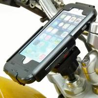 "13.3-14.7mm Motorcycle Stem Mount & TiGRA Tough Case for iPhone 8 PLUS (5.5"")"
