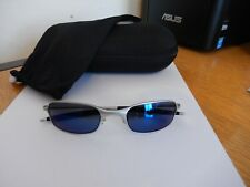 Oakley Square wire 2.0 Sunglasses (Silver with Ice Iridium)