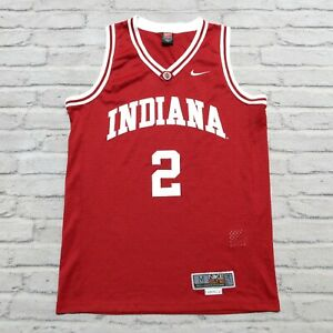Vintage 00s Indiana Hoosiers Basketball Jersey by Nike Size M Authentic 2