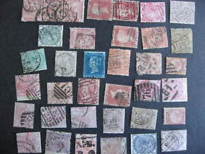 Great Britain 35 QV era huge catalogue value but all have faults, see pictures