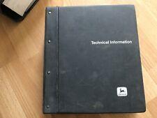 John Deere 4650 4850 Tractor Factory Technical Service Repair Manual Tm1354 Oem