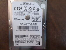 Hitachi HTS547550A9E384 PN:0J27701 MLC:DA4755 Apple#655-1683C 500gb Sata HDD