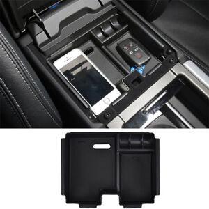 For Land Rover Evoque 2011-2017 Armrest Storage Box Center Console Tray Bin