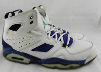 Nike Air Jordan Grape Flight Club 91 Basketball Shoes White 555475-108 SZ 10 Men