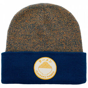 Naruto Raman Patch Beanie Multi-Color