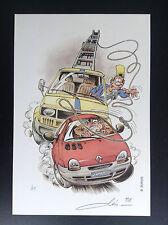 Ex Libris signé Garage Isidor ETAT NEUF