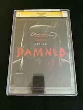 Batman: Damned #1 CGC 10 SS (2018) - Signed by Lee Bermejo