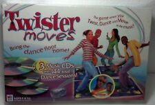 "2003 Milton Bradley ""Twister Moves"" Dance game new sealed in original box #40908"