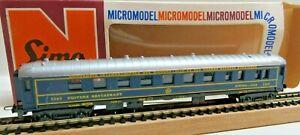 Lima Micromodel N 320303 Buffet Car Restaurant Der Ciwl 3360 Good Boxed