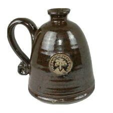 Mt. St. Helens 1980 Imprint Spun Pottery Wheel Thrown Art Coffee Mug Signed EUC
