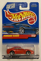 1999 Hotwheels Ferrari 456 456M Red Rosso! Very Rare! Mint! MOC!