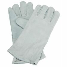"""14"""" Welding Gloves Gray Leather Cowhide Protect Welder Hands"""