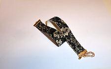 "Kunst-schlangenleder-Choker Halsband  ""natur"" 22mm  NEU"