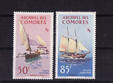 Comores   embarcation  bateau  pirogue  goélette    num  pa 10/11   neuf **
