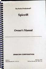 Manual for Sparcom Spice48 Pac for HP 48SX/48GX Calculators