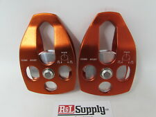 "2 Pack - 5/8"" Single Swing Pulley Arborist Climbing Rigging 35Kn 7,800Lb"