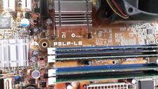ASUSTeK COMPUTER P5LP-LE Leonite, LGA 775/Socket T, Intel Motherboard combo