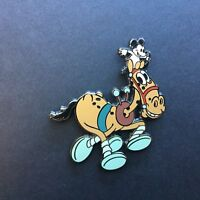 Tanglefoot horse with an orphan mouse from 2003 Advent Set #2 Disney Pin 28543