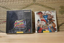 Street Fighter Collection Japan Playstation 1 PS1 Very Good Condition!
