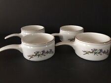 Woodhill By Citation Handled Soup Bowls  Set Of 4   Euc