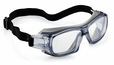 Univet 5X9 Ultra Lightweight Safety Goggles Vented Clear Lens (5X9E.03.00.00)