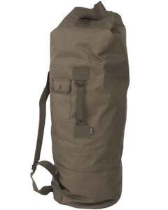US Seesack m.Doppelgurt pes, Camping, Outdoor, Military -NEU