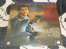 Don't Talk To Strangers Laserdisc LD Pierce Brosnan Free Ship $30 Orders