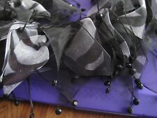 Zebra Black & White Jezebelle's Neckwear Large For Pets Dog NEW