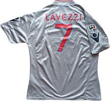 maglia Napoli Lavezzi 2009/2010 Home Jersey Diadora M Lete Nuova LETE