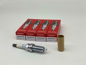 4 PCS 12290-5A2-A01 NGK DILKAR7G11GS Iridium Spark Plugs FITS Accord Acura ILX.
